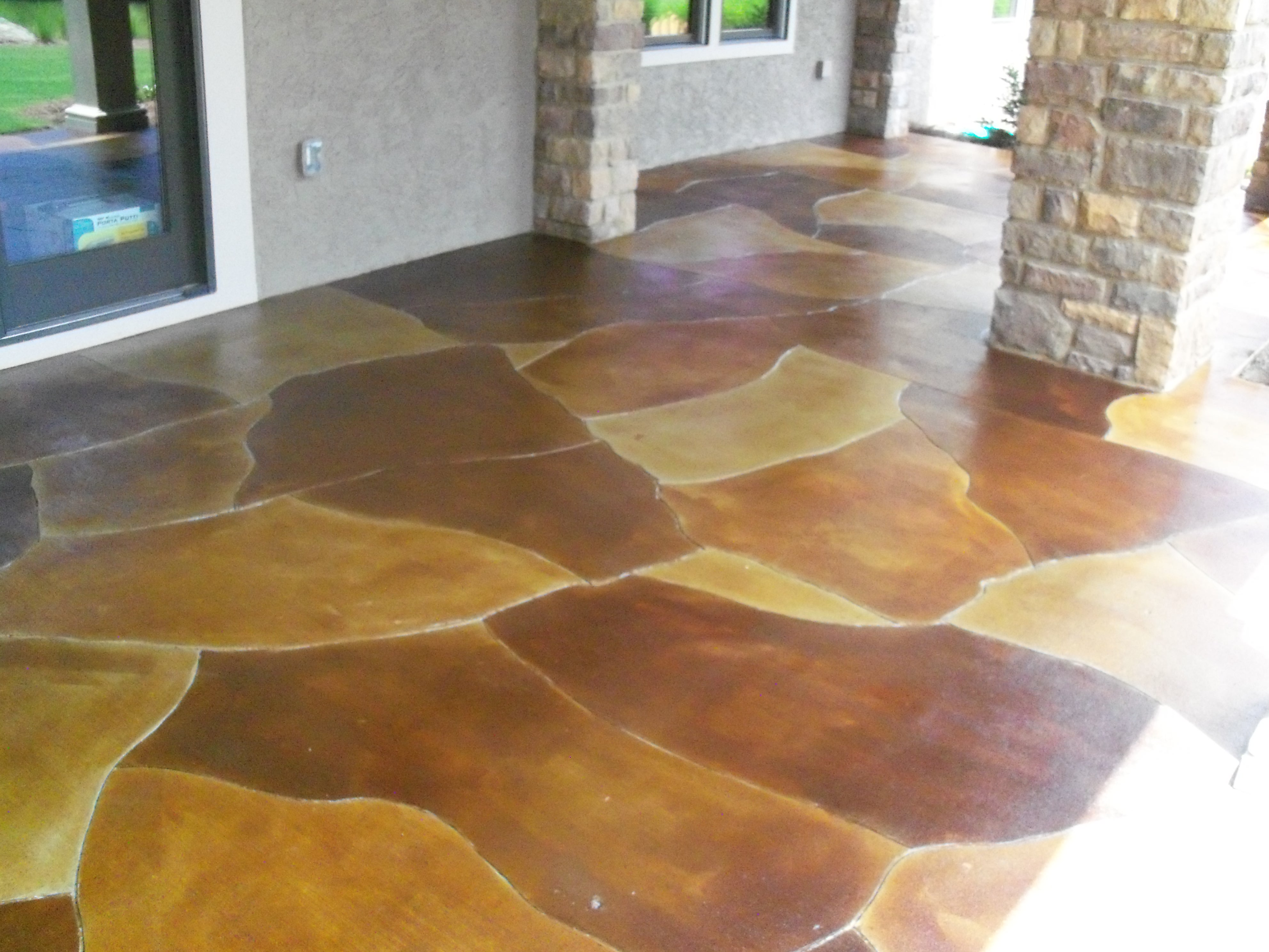 Acid Stained Concrete Concrete Constructors Inc
